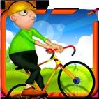Hit And Fly Radfahrer